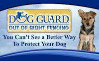 Dog Guard Out-of-Sight fencing system