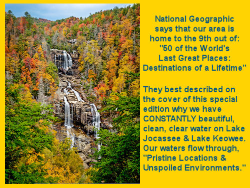 Jocassee Gorges - Whitewater Falls