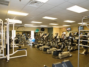 Weight Room in Fitness Center